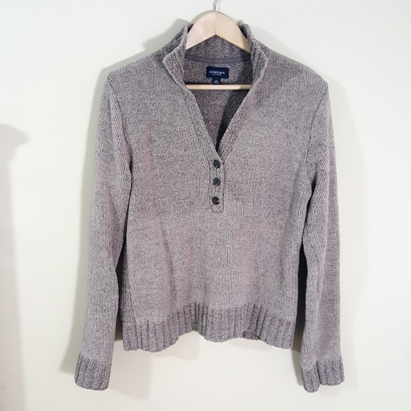 Sonoma Sweaters - 5/$25 // Sonoma // Soft Taupe Pullover Sweater